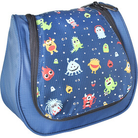 Grüezi-Bag Funny Monster Washbag Kids Navy